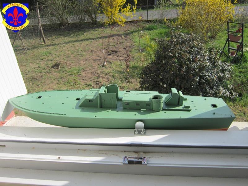 Elco 80 Torbedo boat par Pascal 72 Italeri au 1/35 820
