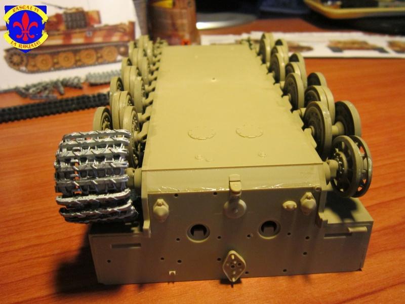 SD.KFZ.181 Tigre I de Tamiya au 1/35 par Pascal 72 828