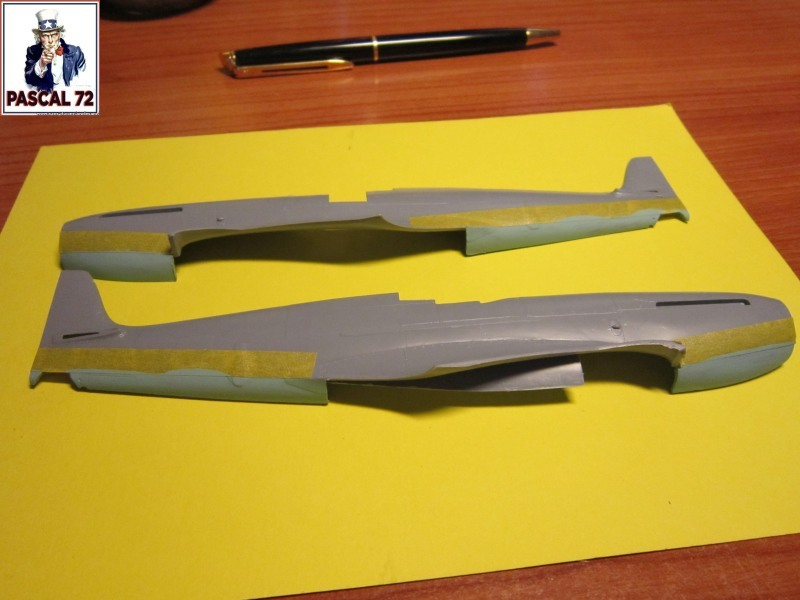 Supermarine Seafire F MK. XV de Revell au 1/48 par Pascal 72 851