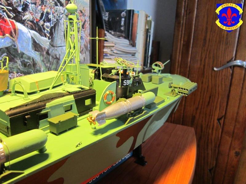 Elco 80 Torbedo boat par Pascal 72 Italeri au 1/35 8910