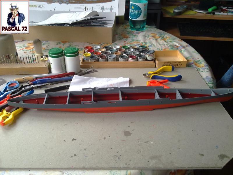 Croiseur lourd MOGAMI au 1/350 de Tamiya par pascal 72 8_114