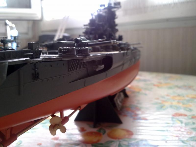 Cuirassé Yamato par Pascal 72 de Tamiya au 1/350 910