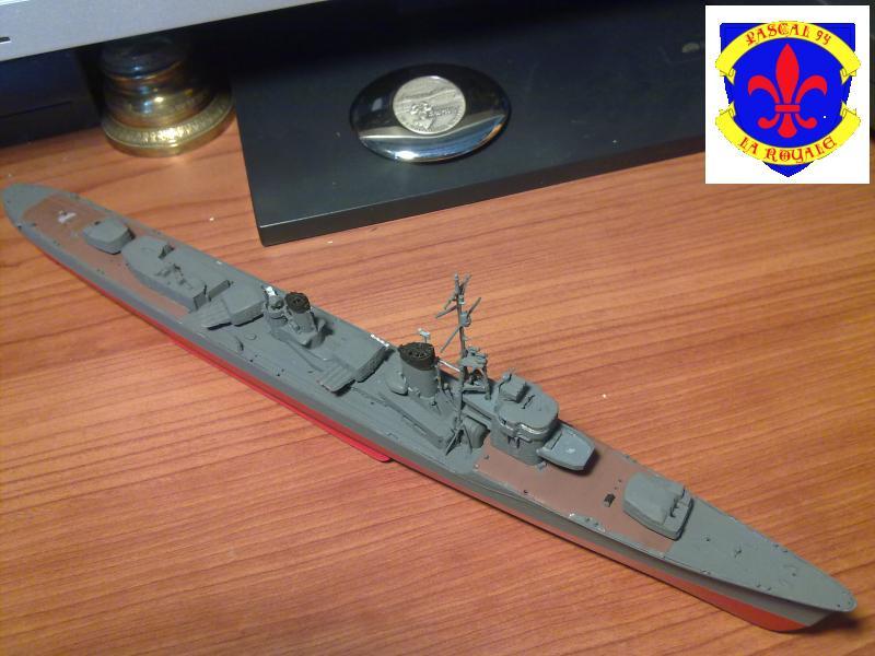 Destroyer Yukikaze par Pascal 72 au 1/350 de Hasagawa 917