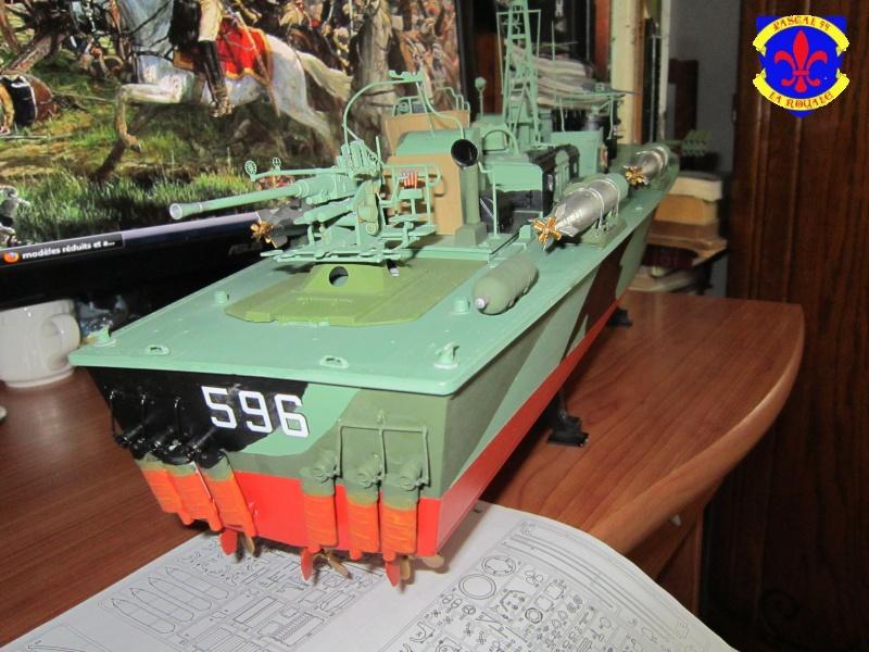 Elco 80 Torbedo boat par Pascal 72 Italeri au 1/35 9210