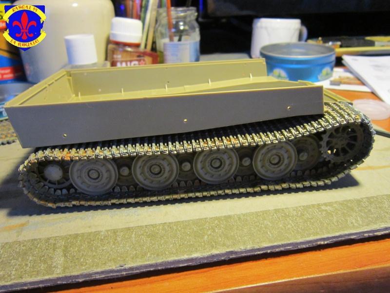 SD.KFZ.181 Tigre I de Tamiya au 1/35 par Pascal 72 930