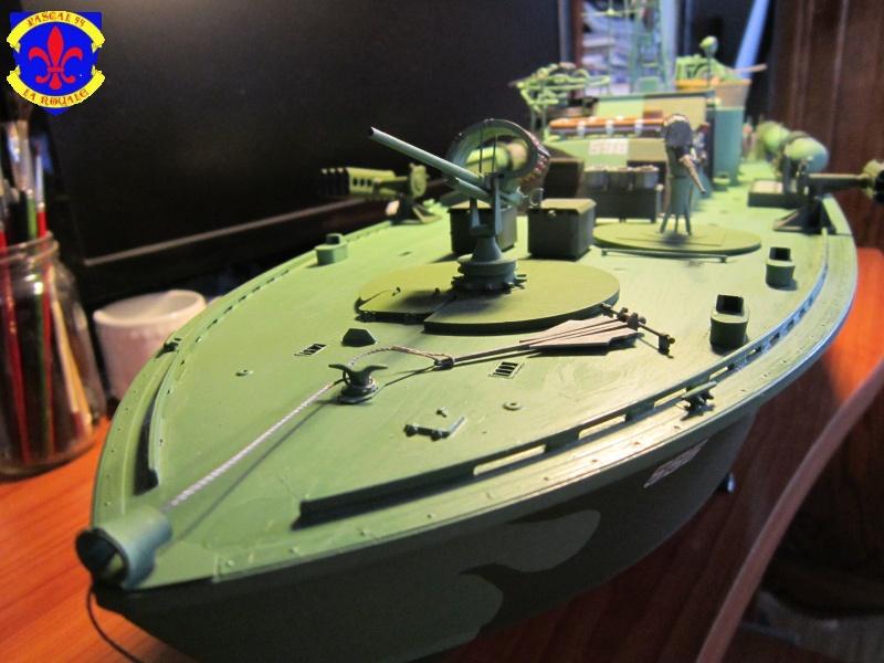 Elco 80 Torbedo boat par Pascal 72 Italeri au 1/35 9410