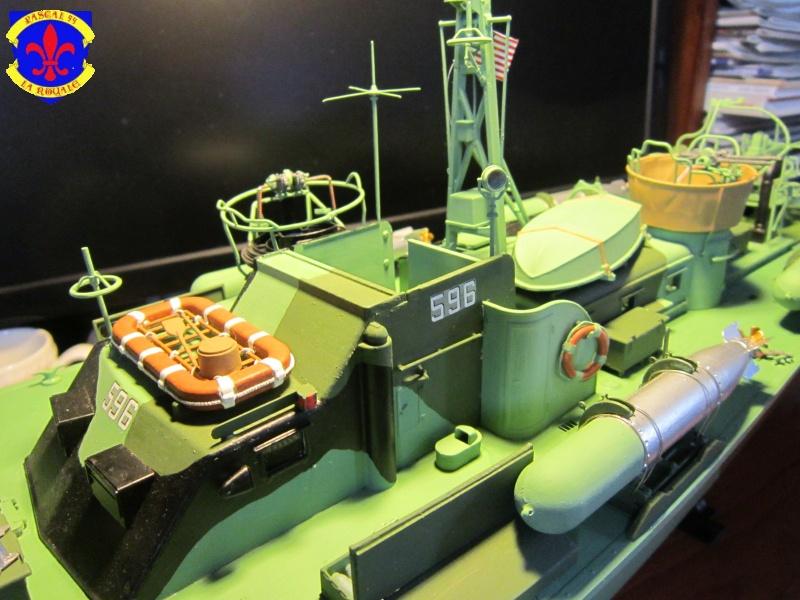 Elco 80 Torbedo boat par Pascal 72 Italeri au 1/35 9610
