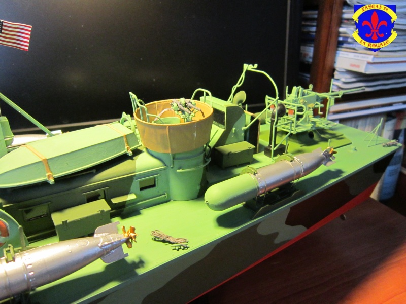 Elco 80 Torbedo boat par Pascal 72 Italeri au 1/35 9810