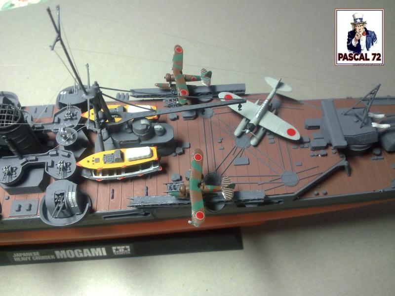 Croiseur lourd Mogami par Pascal 94 de Tamiya au 1/350 9_112