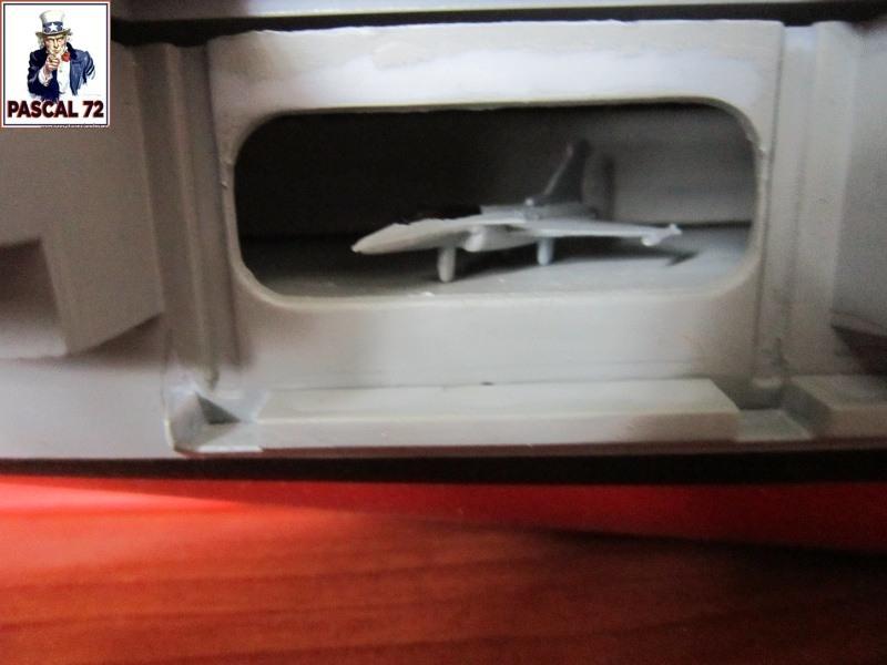 Porte avions Charles De Gaulle au 1/400 d'Heller par Pascal 72 A14