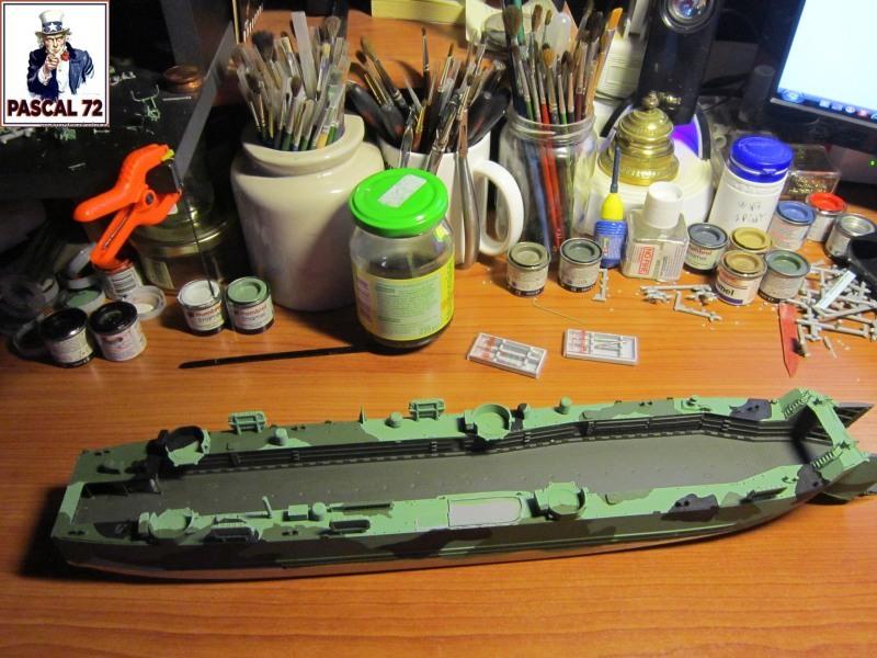 U.S. Navy Landing Ship Médium (Early) au 1/144 par pascal 72 de Revell Ca10