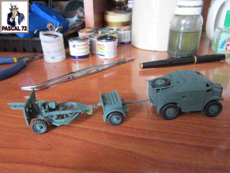 Canon de 25 pounder et son Quad au 1/72 d'Airfix par pascal 72   Img_3427