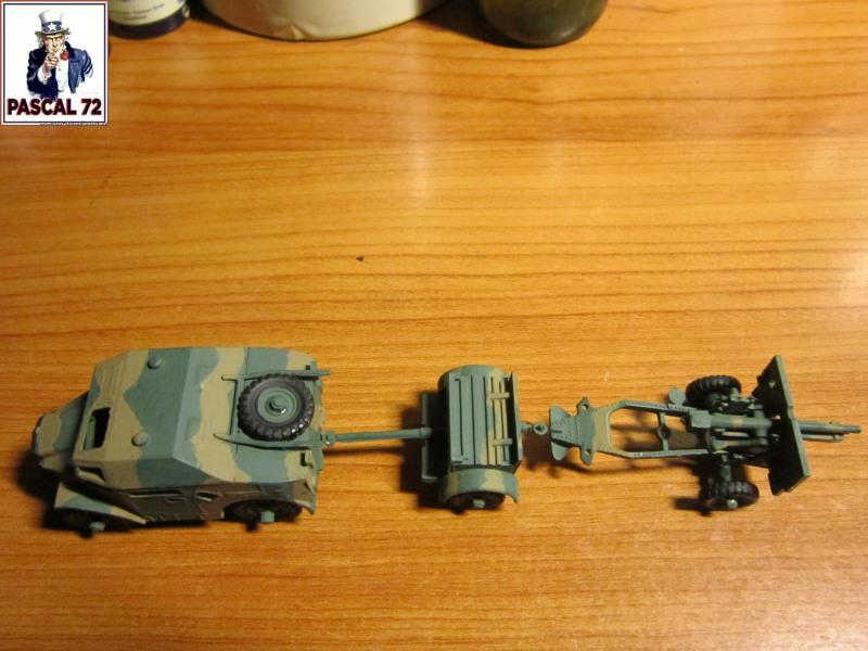Canon de 25 pounder et son Quad au 1/72 d'Airfix par pascal 72   Img_3431
