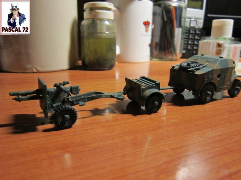Canon de 25 pounder et son Quad au 1/72 d'Airfix par pascal 72   Img_3434