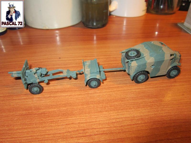 Canon de 25 pounder et son Quad au 1/72 d'Airfix par pascal 72   Img_3435