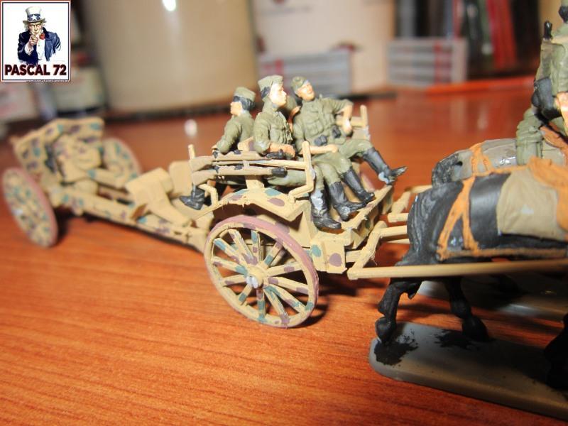 Train hippomobile allemand avec son obusier de 105 au 1/72 par pascal 72 Img_3560