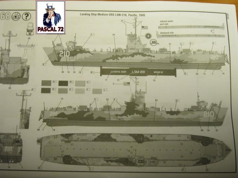 U.S. Navy Landing Ship Médium (Early) au 1/144 par pascal 72 de Revell Img_3739