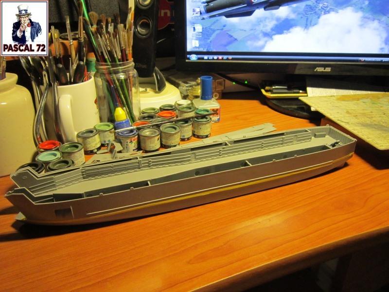 U.S. Navy Landing Ship Médium (Early) au 1/144 par pascal 72 de Revell Img_4034