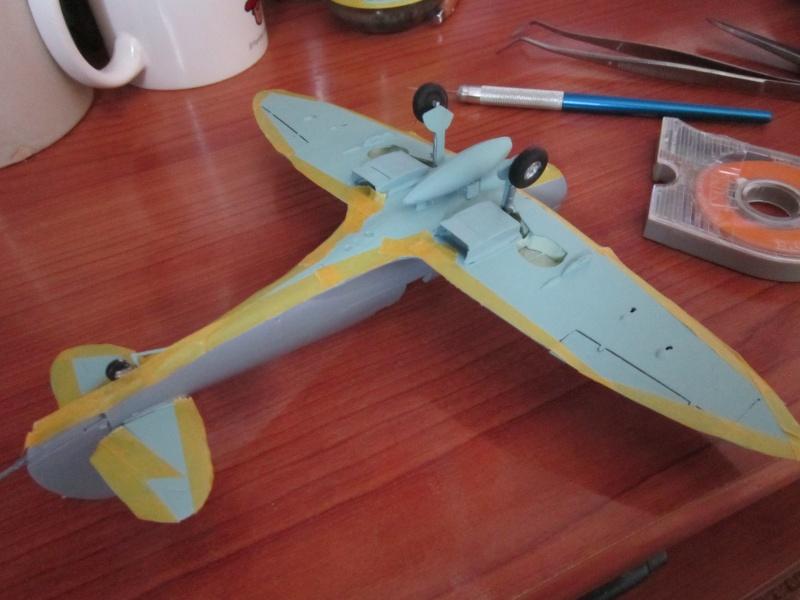 Supermarine Seafire F MK. XV de Revell au 1/48 par Pascal 94 - Page 4 Img_4541