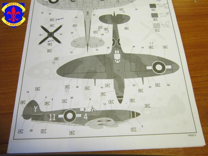 Supermarine Seafire F MK. XV de Revell au 1/48 par Pascal 94 - Page 4 Img_4634