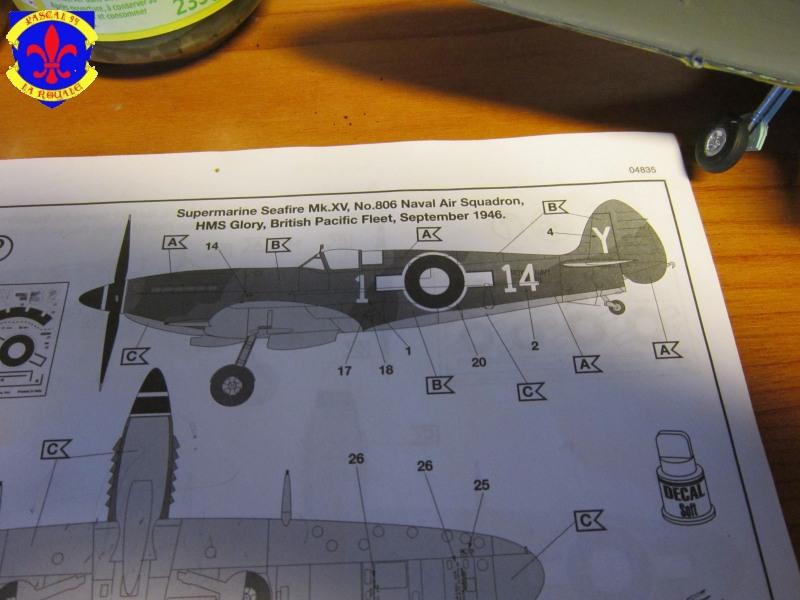 Supermarine Seafire F MK. XV de Revell au 1/48 par Pascal 94 - Page 4 Img_4635