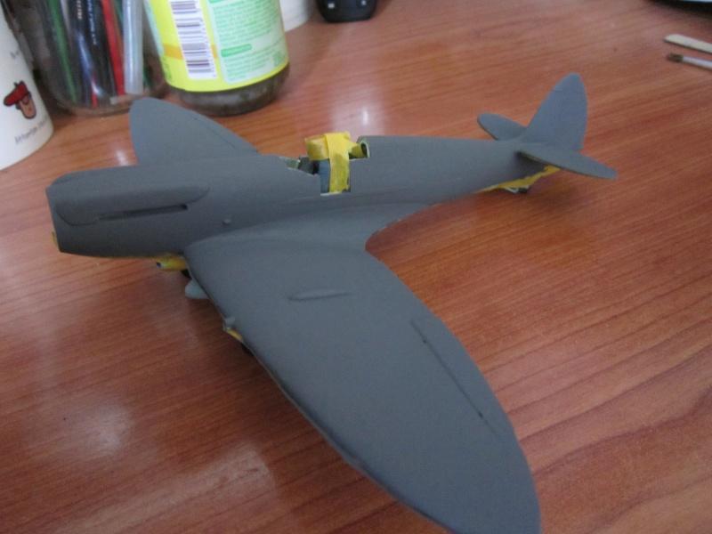Supermarine Seafire F MK. XV de Revell au 1/48 par Pascal 94 - Page 4 Img_4636