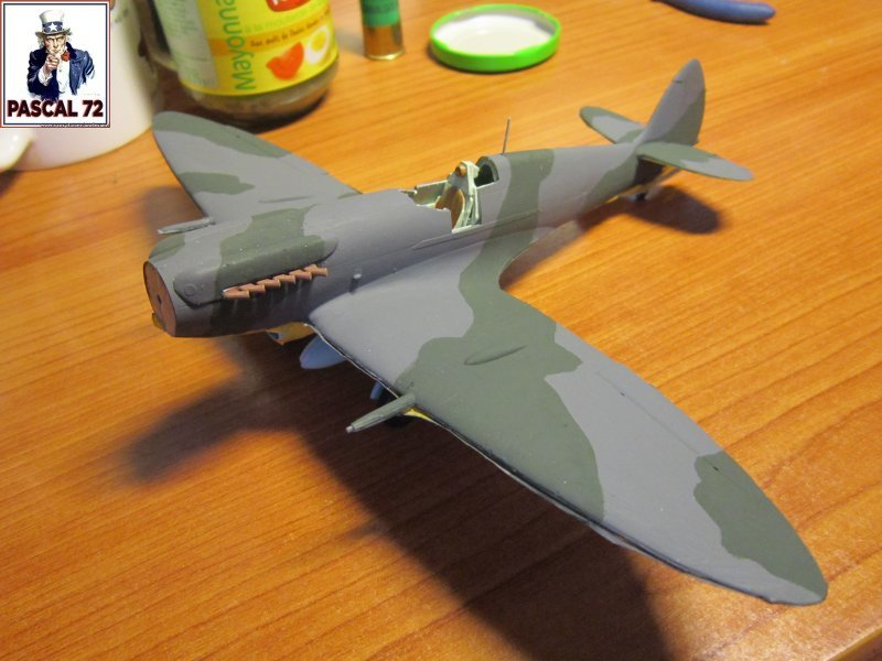 Supermarine Seafire F MK. XV de Revell au 1/48 par Pascal 72 - Page 2 Img_4650