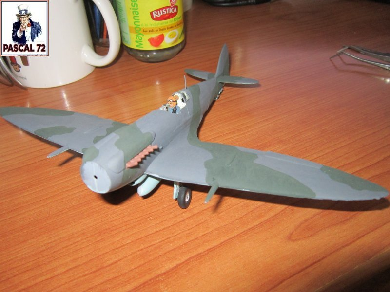Supermarine Seafire F MK. XV de Revell au 1/48 par Pascal 72 - Page 2 Img_4651