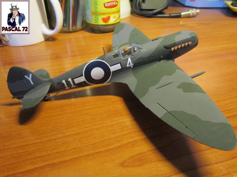 Supermarine Seafire F MK. XV de Revell au 1/48 par Pascal 72 - Page 2 Img_4653