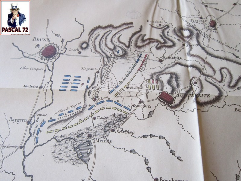 Carte de la bataille d'Austerlitz Img_4741