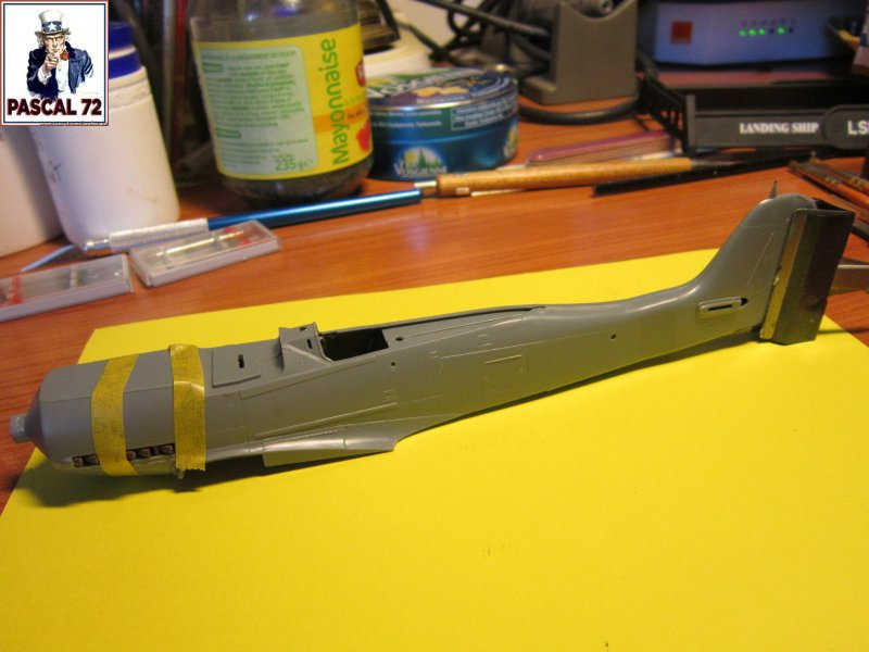 Focke Wulf 190 D9 de Tamiya au 1/ 48 par pascal 72 Img_4994
