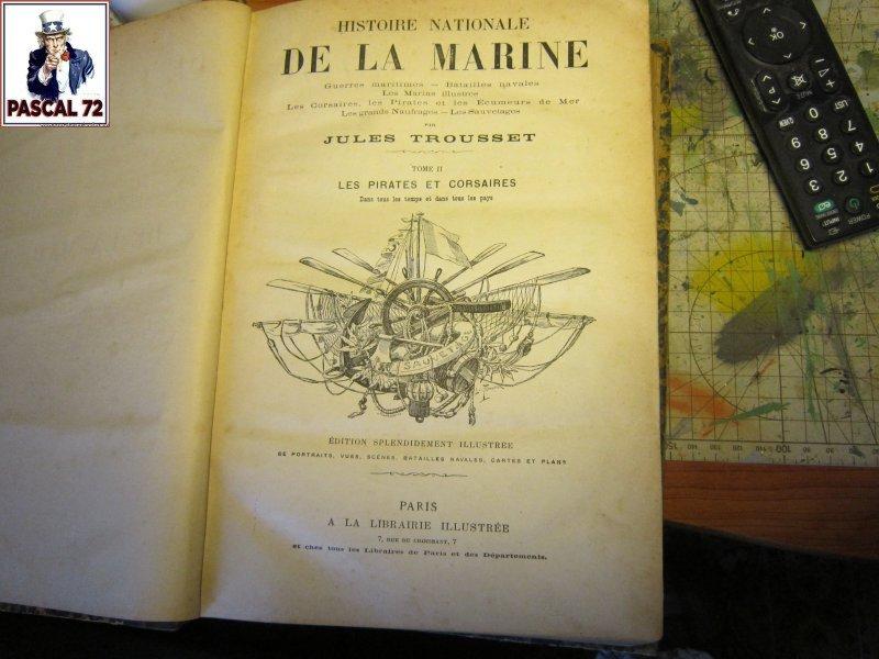 Histoire Nationale de la Marine - 1880 - Jules Trousset Img_5016