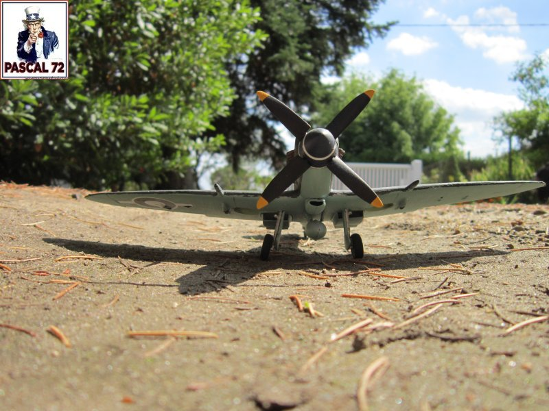 Supermarine Seafire F MK. XV de Revell au 1/48 par Pascal 72 Img_5161