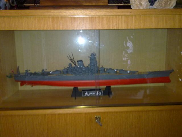 Cuirassé Yamato par Pascal 72 de Tamiya au 1/350 Vitrin10