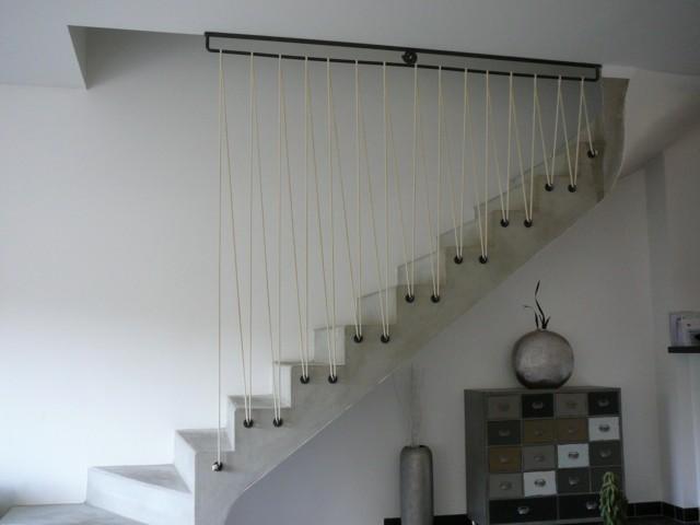 escalier béton ciré Sycuri23