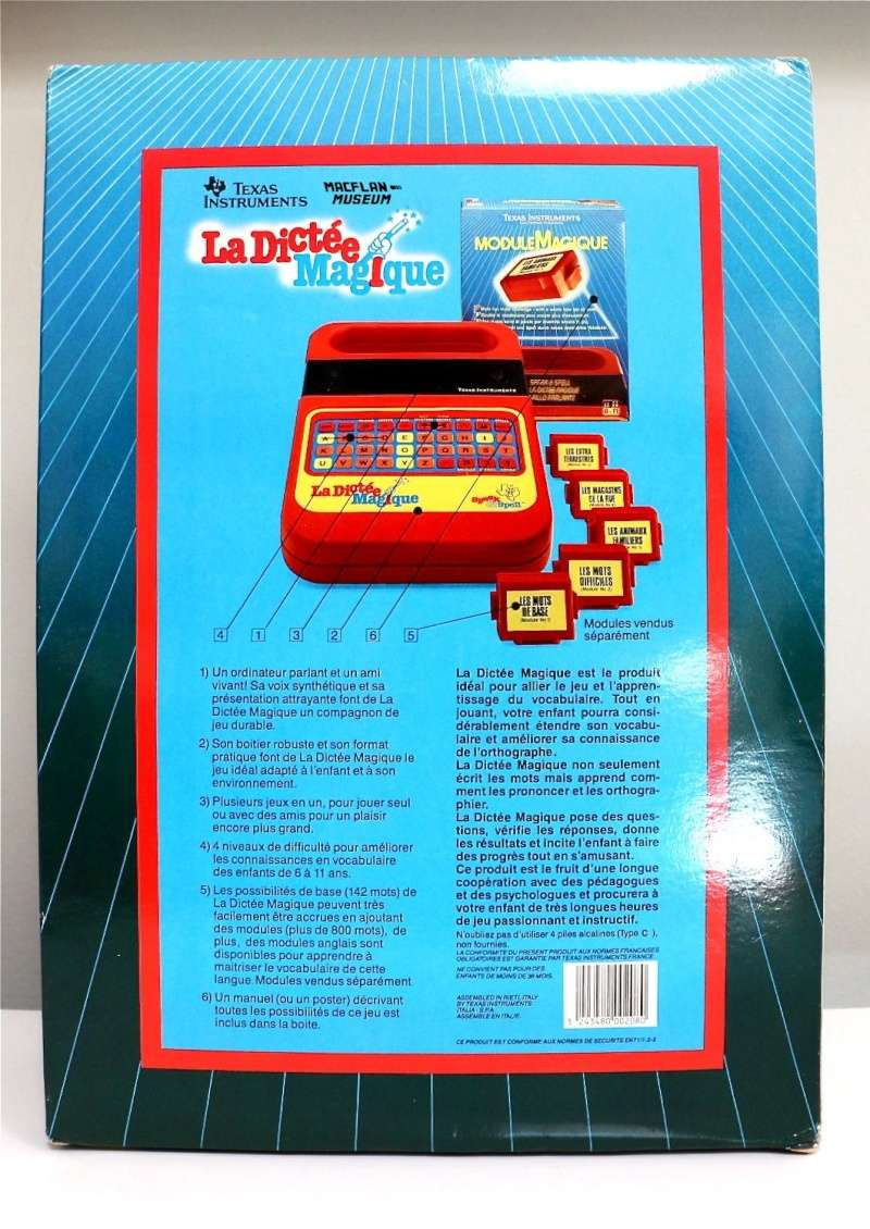 La dictée magique - Speak & Spell - Texas Instrument Dictee13