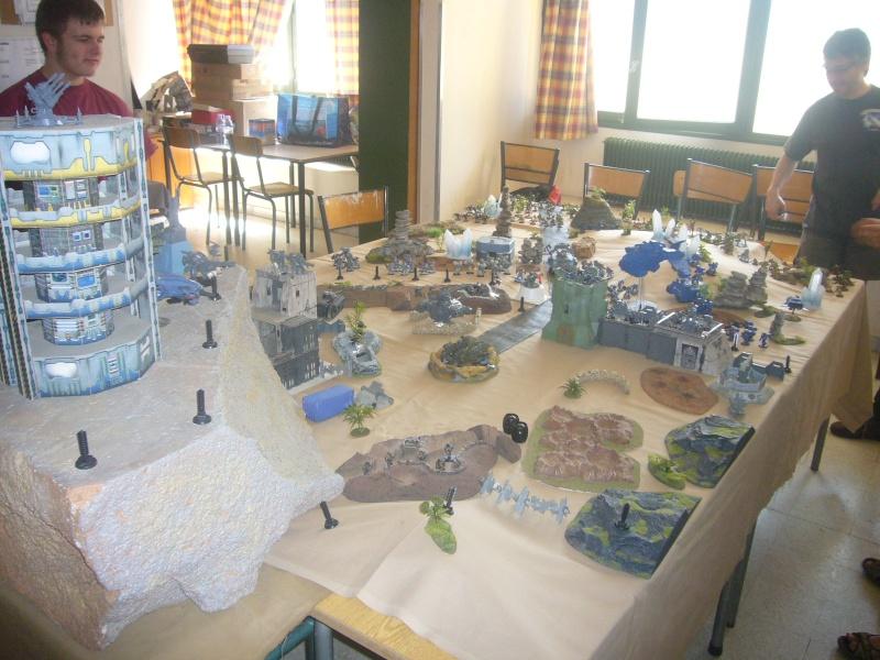 bataille de GALENUS PRIME : alliance TAU/SPACE MARINE contre tyranides. P1420213