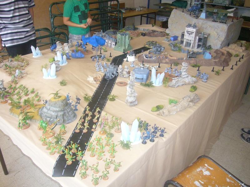 bataille de GALENUS PRIME : alliance TAU/SPACE MARINE contre tyranides. P1420214