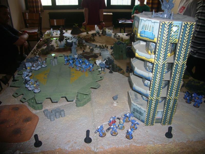 bataille de GALENUS PRIME : alliance TAU/SPACE MARINE contre tyranides. P1420310