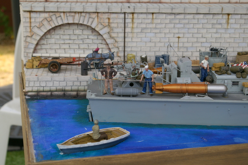 Torpedo boat PT - 596 [italeri 1/35] - Page 11 Imgp8518