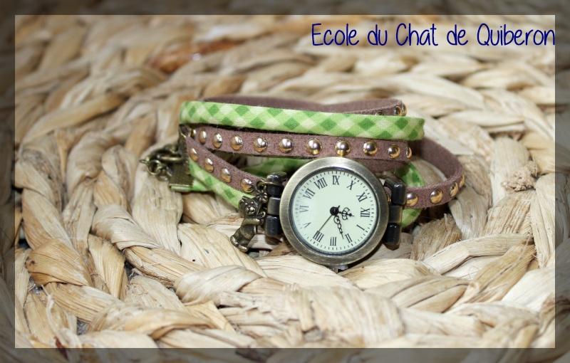 Les montres - 100% Fait-main, au profit de l'ECQ! Img_2010