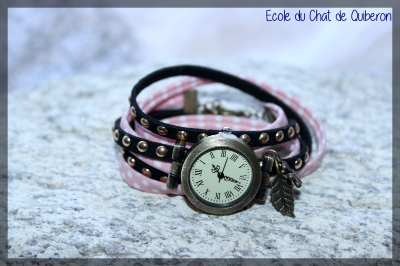 Les montres - 100% Fait-main, au profit de l'ECQ! Img_2210