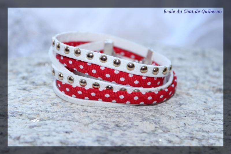 Les bracelets...100% Fait-main, au profit de l'ECQ! Img_2230