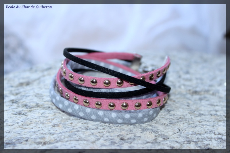 Les bracelets...100% Fait-main, au profit de l'ECQ! Img_2232