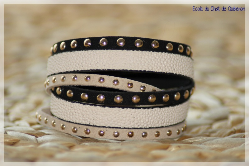 Les bracelets...100% Fait-main, au profit de l'ECQ! Img_4810