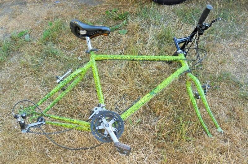VTT fluo jaune/vert de 1991 shimano ALTUS 10 Dscn6266