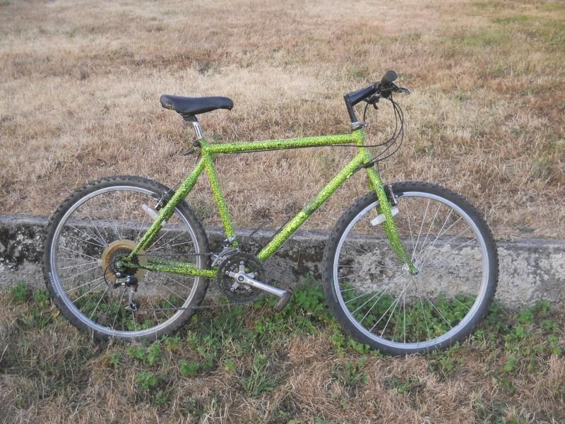 VTT fluo jaune/vert de 1991 shimano ALTUS 10 Dscn6333