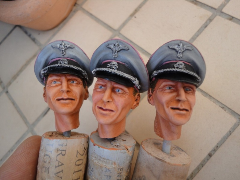 Gruppenführer Wilhelm BITTRICH  - Mitches Military Models - 1/9 (200 MM) - Page 4 Dsc08322