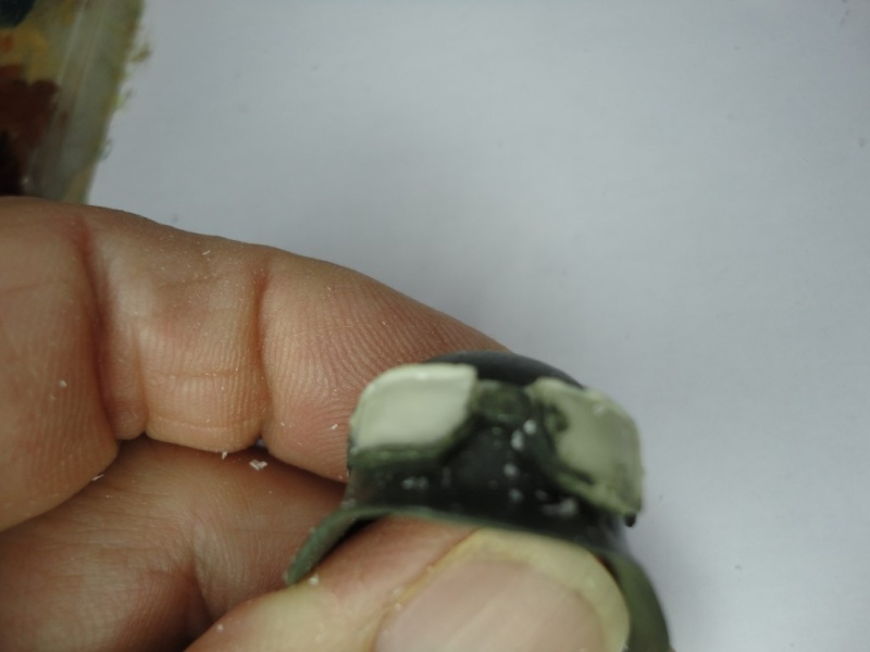 Feldgendarme - Young Miniatures ref 1919 -  1/9  200 mm  ( finie ) - Page 2 Dsc08442