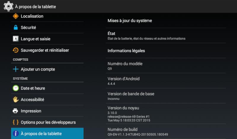 Mise à jour Firmware Q9 Screen12